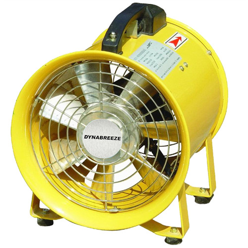 Built for endurance & extended performance, this fan features a powerful 520W motor with an air delivery of 60m3 per minute and 1400 rpm. Equipped with a heavy duty safety grille plus anti vibration mounts, this 2 in 1 unit provides ultimate functionality for premium use on any commercial site.  • Air delivery 60m3/min • 2 in 1 blows or extracts • Powerful 2800rpm, 520w motor • Use as a blower for drying paint • Extracts fumes, odours, dust, stale and hot air • Heavy duty safety grille and anti vibration mounts • Quality 14kg construction for longevity and strength • Suitable for ventilating workshops and confi ned areas • Portable with robust carry handle and on/off safety switch