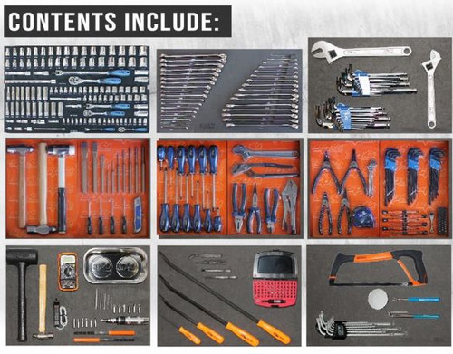 SP50115 SP Tools 406p AF/MM Onsite Ute Box Toolkit. Hot Value!