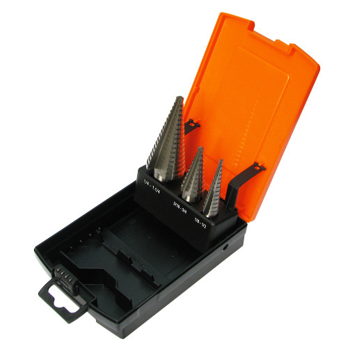 SP31398 SP Tools 3pc Step Drill Sets Metric
