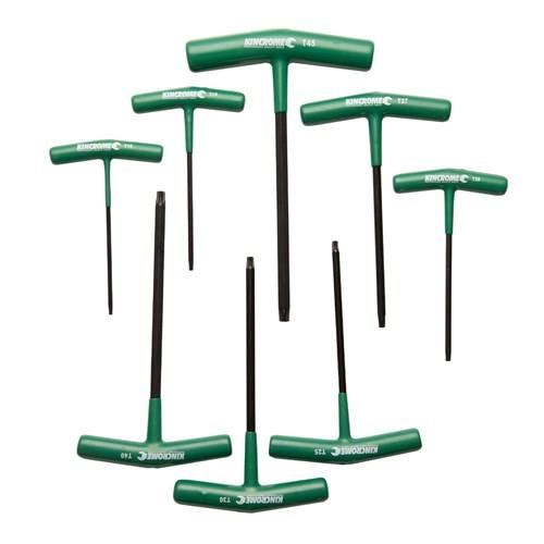 K5283 Kincrome T Handle Hex Key Set 8 Pce Torx(r)