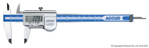 "Accud Coolant Proof 1P67 12"" (300mm) Digital Vernier"