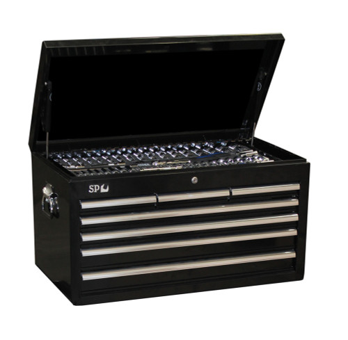SP50170 SP Tools 376pc Metric/SAE Tool Kit in Sumo Series Tool Box Black