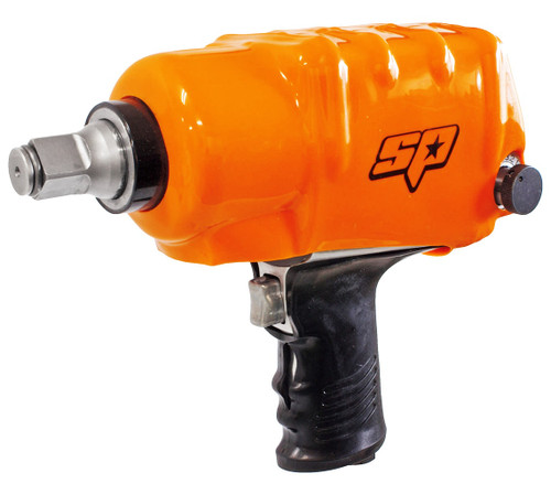 SPECIFICATIONS: Bolt Busting Torque: 1900Nm Max Torque: 1390Nm Working Torque: 1100Nm Length: 180mm Capacity: 25mm Weight: 5.75kg Air consumption: 971L/min Max FEATURES: Heavy duty - Ideal for the trucking and tyre industry as well as industrial applications Twin regulated high performance pin type hammer, delivering torque fast Features our brand new 8 vane rotor 6 torque settings Low vibration Handle exhaust High Torque