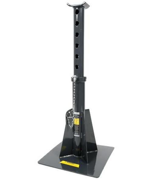 Borum 15000KG Heavy Duty Axle Stand Long Series Single Unit.