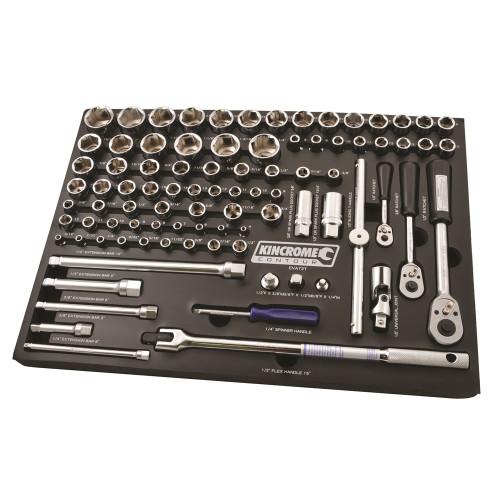 Kincrome  EVA72T EVA Tray Sockets & Accessories Contour 89 Pce