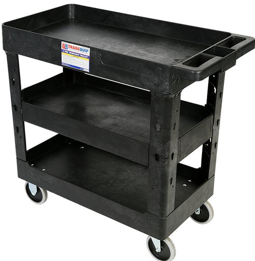 Tradequip Super Strong Polymer Tool Cart