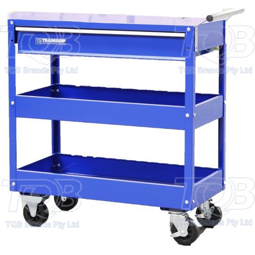 6012T Tradequip Tradies Tool Cart With Drawer
