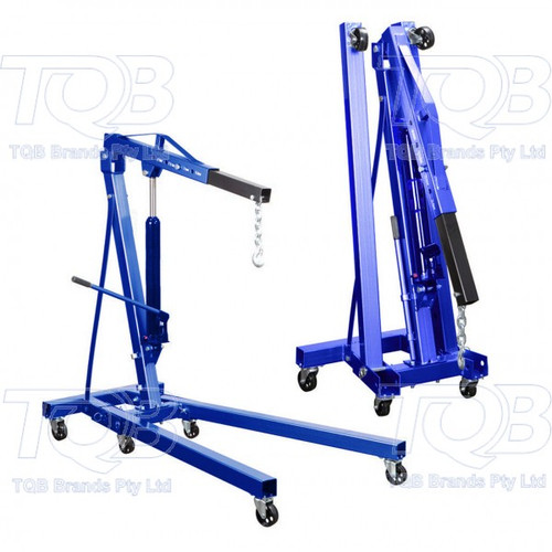 Tradequip Foldable 1200Kg Engine Crane