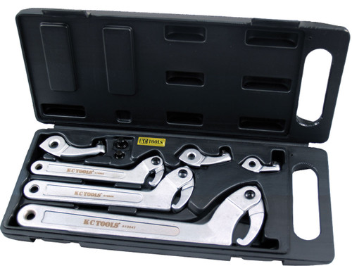 KC TOOLS Hook Wrench Set A13044.