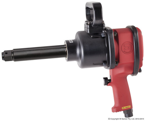 SHINANO 1840 Ft Lb 1″ PISTOL GRIP IMPACT WRENCH EXTENDED HANDLE