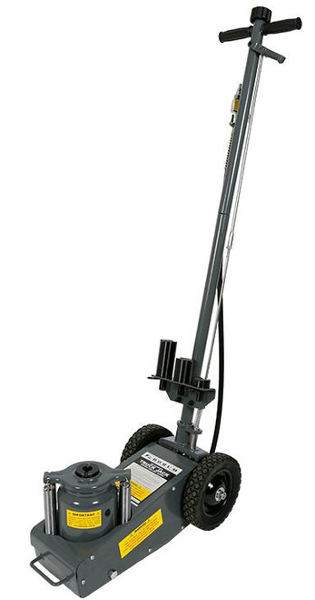 • Safe working capacity: 35,000kg • Height: 255-533mm • Hydraulic lift: 155mm • Adjustable height: 123mm • Operating air pressure: 110-125psi