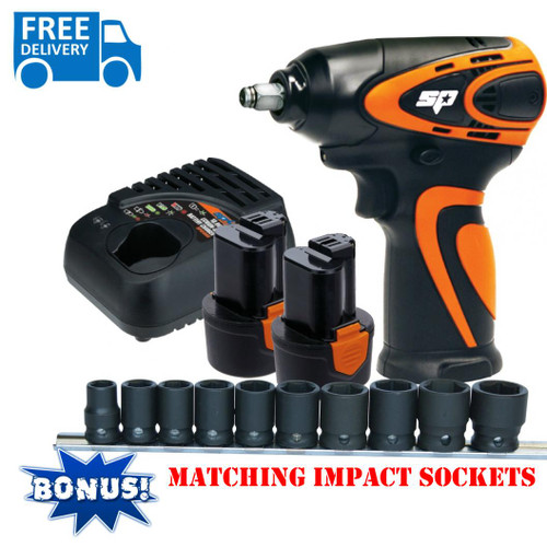 """SP Tools Max Drive Impact Wrench 3/8"""" Drive."""