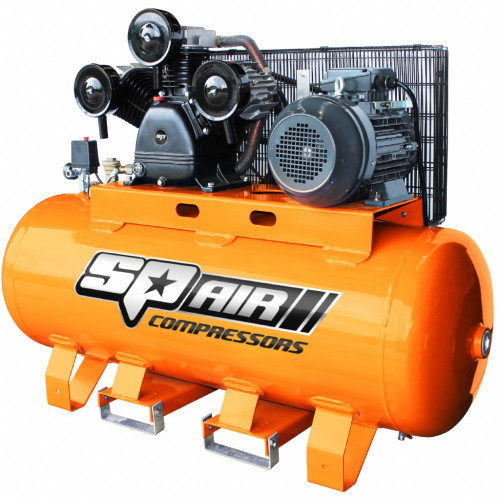 SP 10HP TRIPLE CAST ELECTRIC STATIONARY AIR COMPRESSOR
