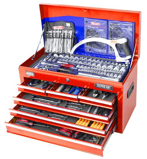 KC ProAm Tools Mega 196 Pce AF Metric Toolkit