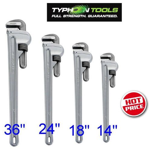 Typhoon Trade Aluminium Pipe Wrench Pack. Super value!