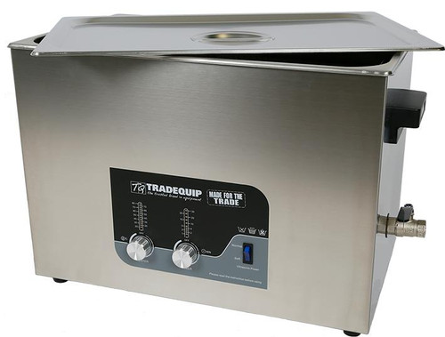 Tradequip Ultrasonic Parts Cleaner 27 Litre
