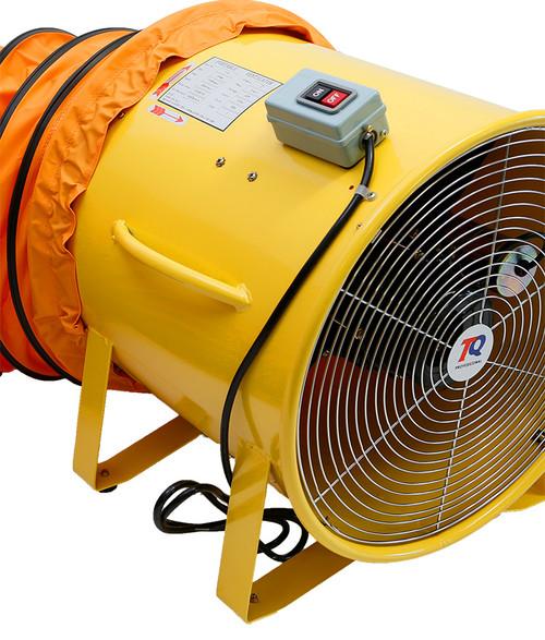 TRADEQUIP COMMERCIAL 450MM EXTRACTOR FAN & 5 METER DUCTING