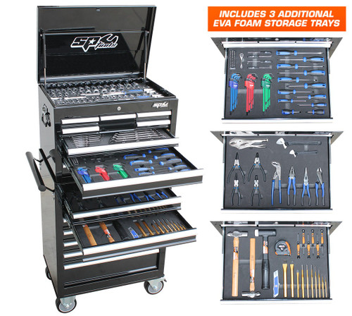 Includes BONUS 3 x Foam Trays for most of the other Tools!