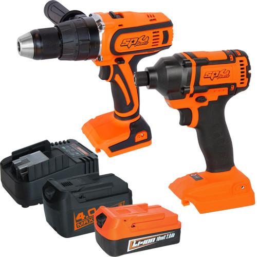 SP Tools 18V Brushless Combo Power Kit