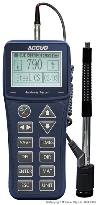 Accud Portable Hardness Tester