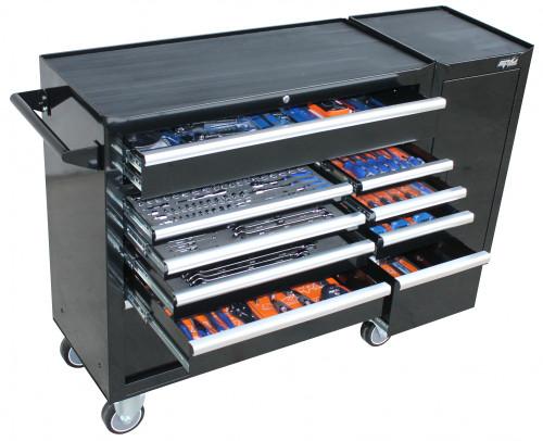 SP Tools 347pce Metric SAE Custom Roller Cabinet Tool Kit