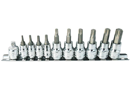 SP TOOLS INHEX TORX SOCKET RAIL SET