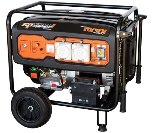 SP Tools 15Hp Petrol Construction Series Generator