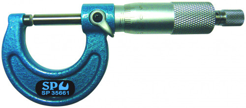 SP Tools MICROMETER OUTSIDE 0-25mm (0.01 READING)