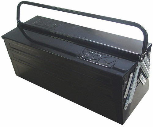 SP Tools 5 Tray Steel Cantilever Tool Box Medium
