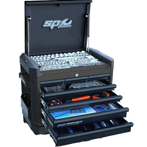 SP50033D SP Tools 212pc METRIC ONLY Toolkit 7 Drawer Toolchest Diamond Black