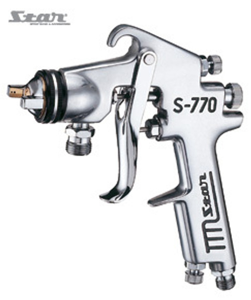 Star Pressure Feed Spray Gun with 1.5mm Nozzle