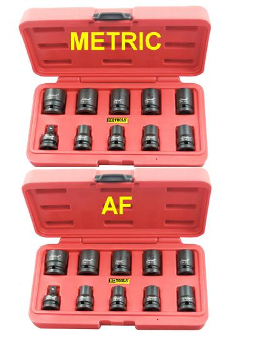 Get BOTH Metric & AF Sets genuine KC Tools for less than the price of one!