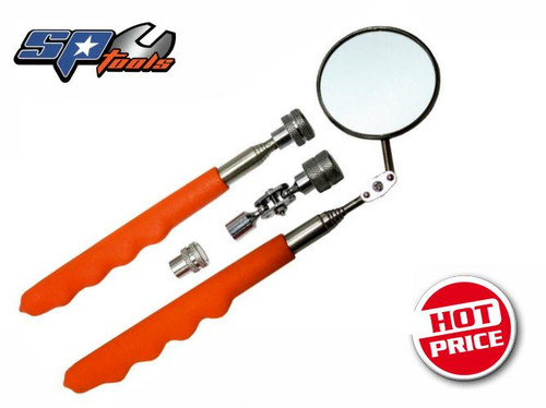 SP Tools Telescopic Inspection Mirror & Pick Up Tool Set 4pce