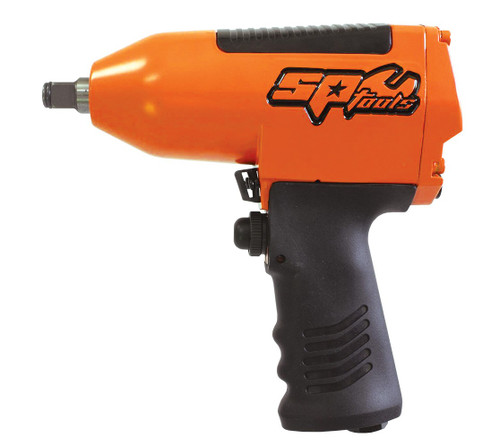 SPECIFICATIONS: Bolt Busting Torque: 850Nm Max Torque: 500Nm Working Torque: 420Nm Length: 190mm Weight: 2.5kg Free Speed: 7,000rpm FEATURES: Heavy duty body Reversible Ergonomic rubber grip handle Features our brand new 8 vane motor Pin type hammer 4 Torque settings