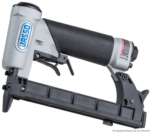Staple Crown: 12.8mm (80 Series) Staple Length: 6-16mm Fastener Capacity: 100 staples Dimensions : 223x43x156mm Weight: 0.708Kg Recommended operating pressure : 4-7bar (60-100psi) Air consumption per drive : 0.34litres/sec at 7 bar Noise level : 77dBA (90dBA power) Vibration : 2.1m/s2