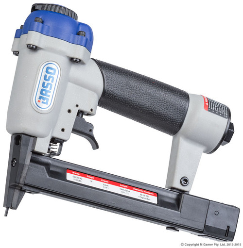 Staple Crown: 5.8 mm (6000/L Series) Staple Length: 13-25 mm Fastener Capacity: 100 staples Dimensions : 244x49.7x194mm Weight: 0.66Kg Recommended operating pressure : 4-7bar (60-100psi) Air consumption per drive : 0.61litres/sec at 7 bar Noise level : 87.15dBA (100.15dBA power) Vibration : 2.26m/s2
