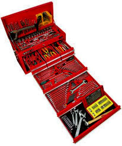 KC TOOLS 310 PIECE MEGA TOOLKIT IN 9 DRAWER CHEST