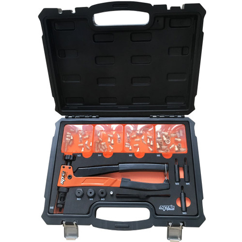 SP Tools 90pce Nut Riveter Kit M3-M6