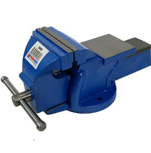 Tradequip Bench Vice Fixed with Anvil 125mm