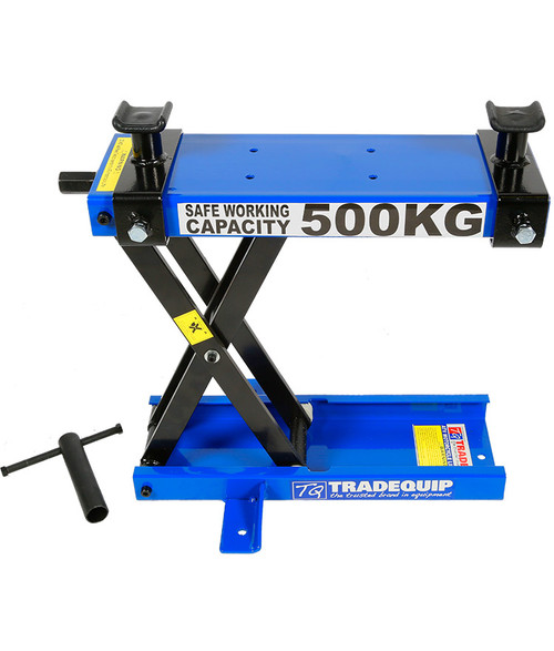 TRADEQUIP MOTORCYCLE LIFTER 500kg