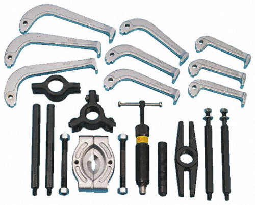 Tradequip Industrial 10 Tonne Hydraulic Puller Kit.