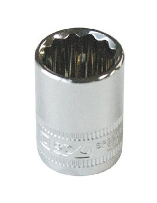 "SP Tools 3/8"" Drive 12 Point Socket 21MM"