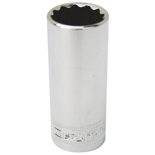 "SP Tools Deep 3/8"" Drive 12 Point Socket 11/16"""
