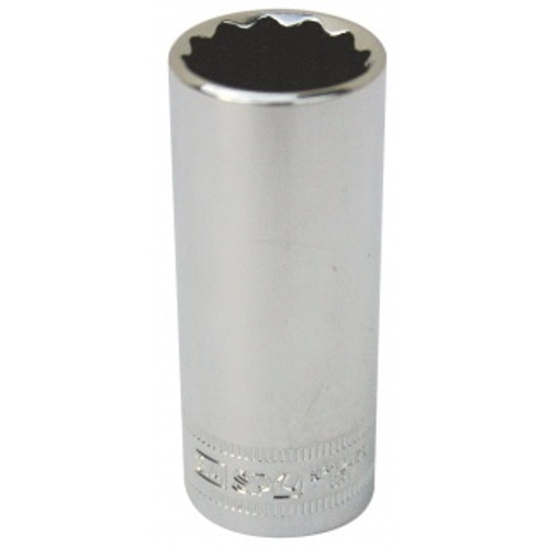 SP TOOLS SOCKET 3/8DR 12PT DEEP METRIC 15MM