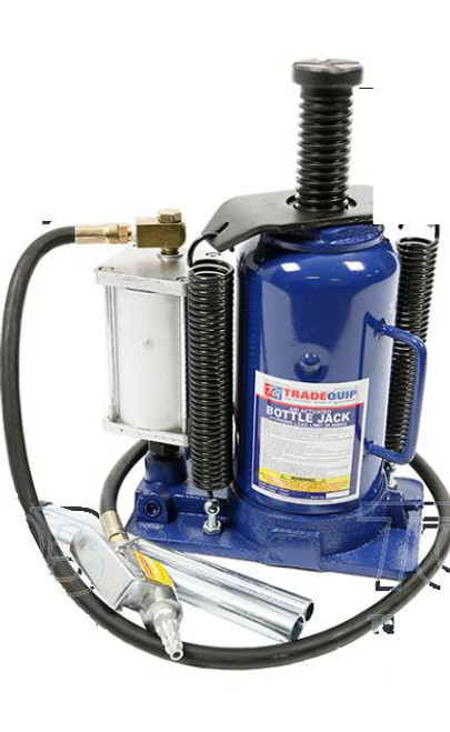 Tradequip Bottle Jack Air Hydraulic 20,000kg