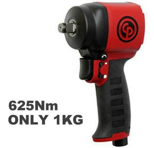 "Chicago Pneumatic Ultra Light Compact 460 Ft lb 3/8"" Impact Wrench."