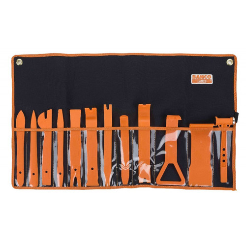 Includes 1 x Trim Hammer 1 x Wide Remover Tool 1 x Pull Remover Tool 1 x Handy Remover Tool 1 x Narrow Remover Tool 1 x Upholstery Remover Tool 1 x Angled Clip Panel Remover Tool 1 x Flat Clip Panel Remover Tool 1 x Clip Panel Remover Tool 1 x Panel Remover Tool 1 x Sharp Panel Remover Tool 1 x Straight Panel Remover Tool