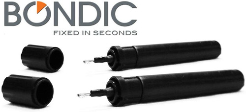 Bondic® - Refill 4 Gram duo pack. 2 x REFILL CARTRIDGE: 4 gram Bondic Liquid Refill. Bondic Welder Tool. LONG LASTING: Roughly 200 drops per refill cartridge (number of applications is stickily dependent on the amount used)