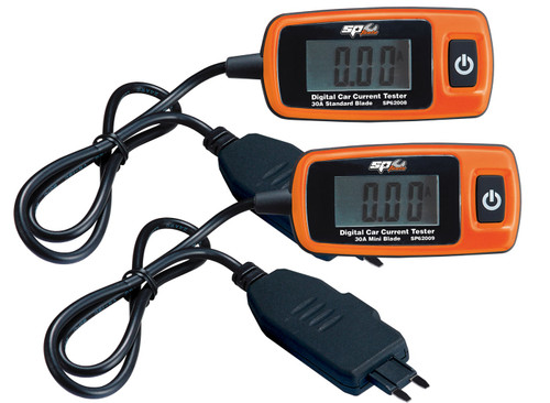 SP Tools Digital Automotive Current Testers  30Ah Twin Pack