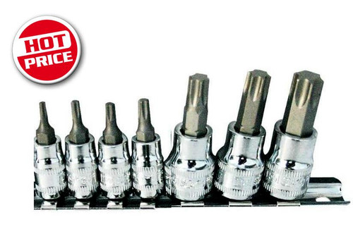 Workforce In-Hex Torque Bit Set On Rail.